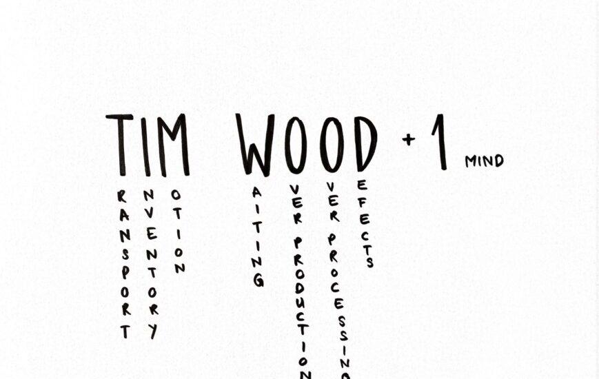 Tim Wood als Eselsbrücke für die 7+1 Verschwendungsarten (Waste)