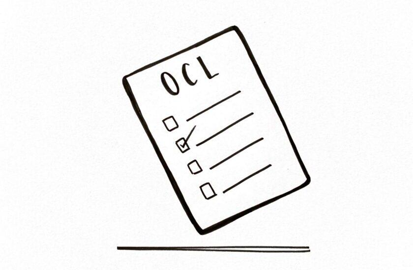 Skizzierte To Do Liste als Symbol für die Open Challenge List